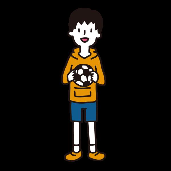 私服の小学生(男子)