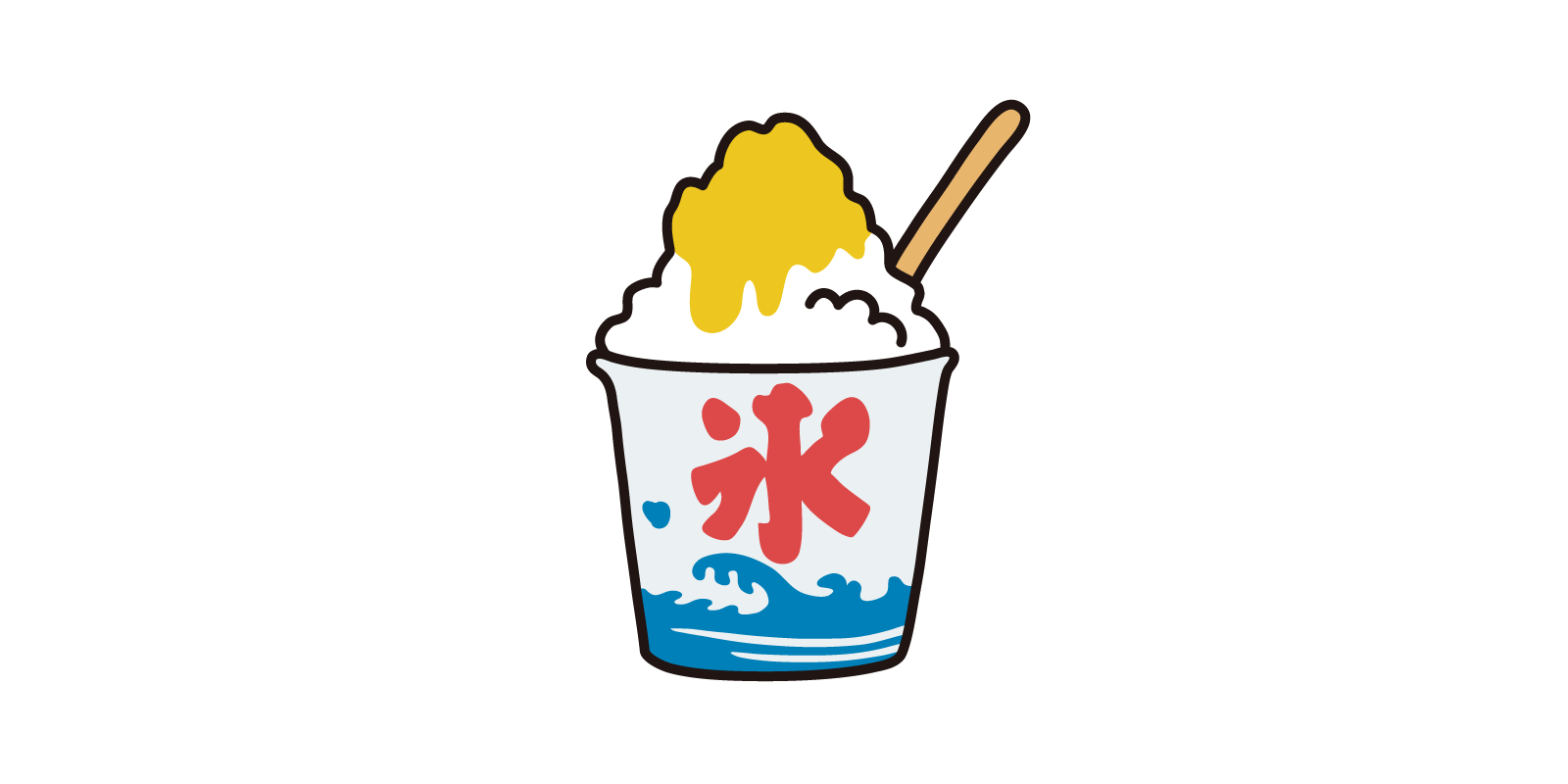 かき氷(レモン)