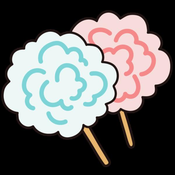 綿菓子(わたがし)
